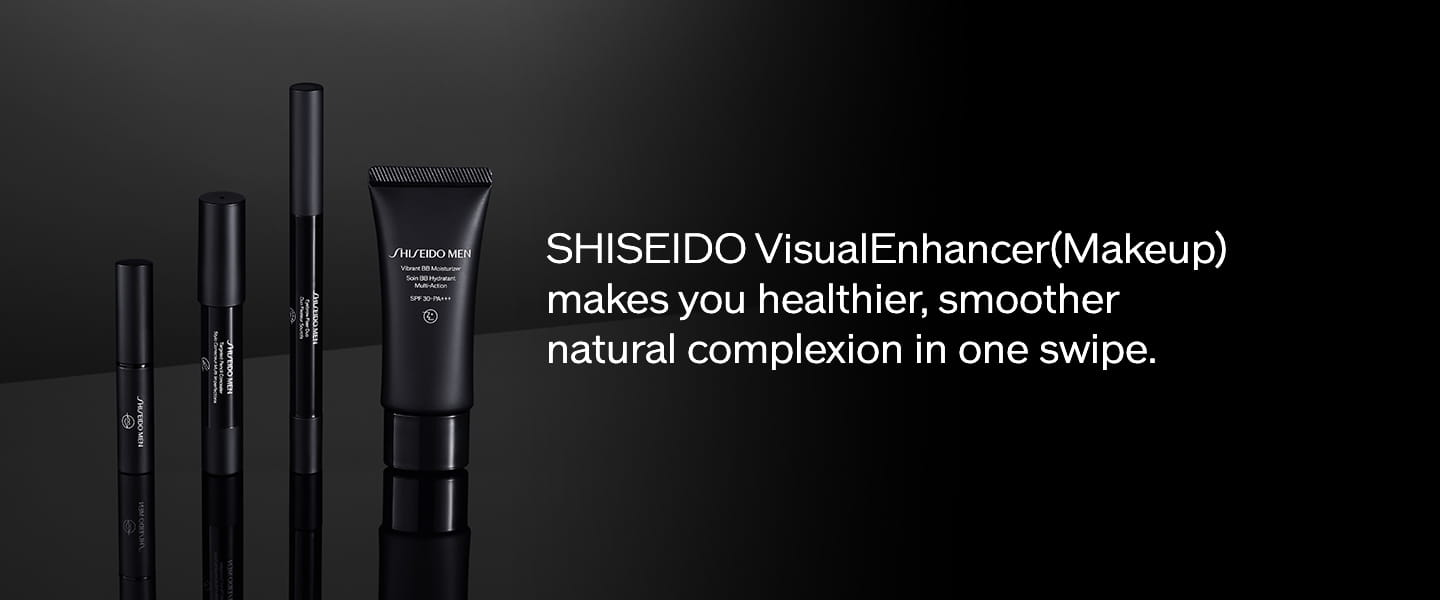 SHISEIDO VisualEnhancer(Makeup) makes you healthier, smoother natural complexion in one swipe.