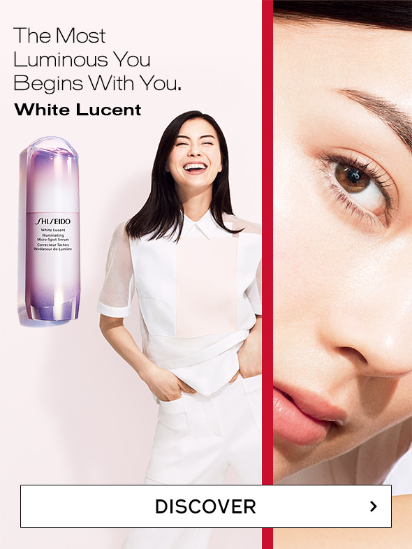 The Most Luminous You Begins With You. White Lucent DISCOVER